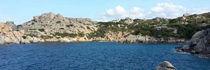 The coast near Cala Spinosa