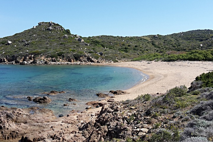Beach of Porto Quadro