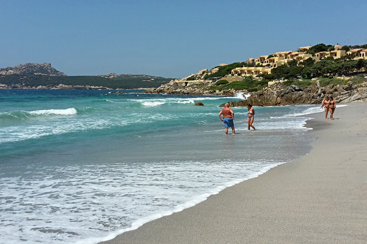 Santa Reparata, beach and village