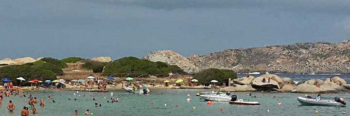 Il tratto della spiaggia dei Graniti