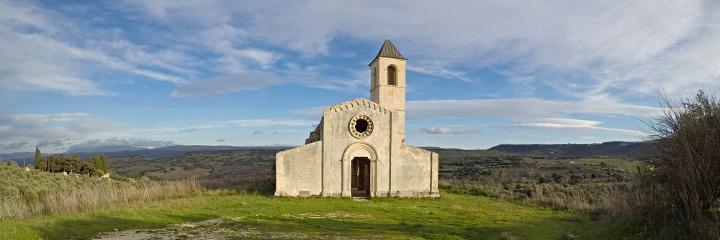 The church of San Pantaleo