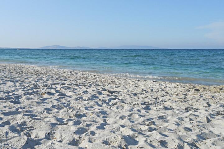 Vue vers l'Asinara
