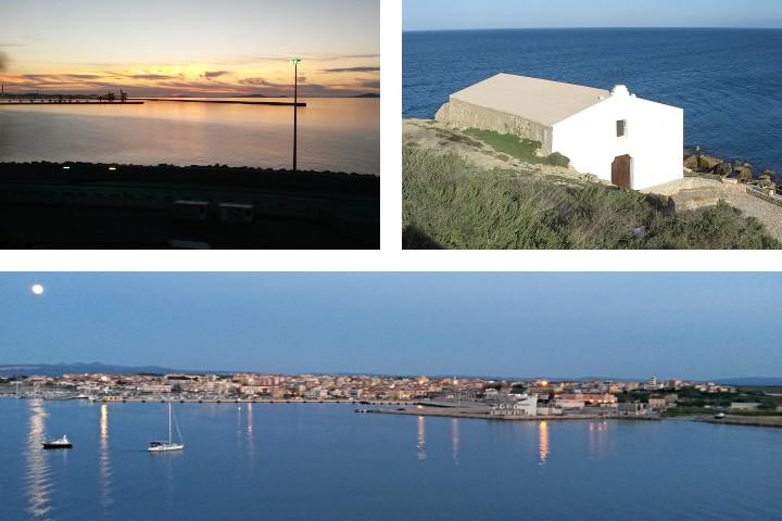 Porto Torres, vue sur la ville et le territoire