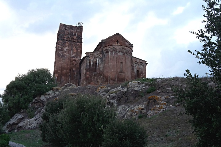 View of the Basilica of Sant'Antioco di Bisarcio