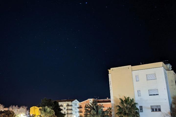 Sassari, nightscape