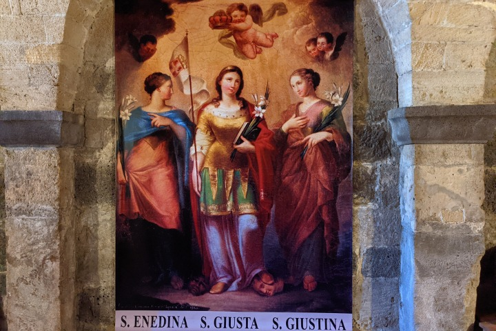 Image of the Saints Giusta, Giustina and Enedina