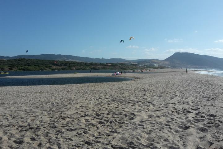 Baia delle Mimose Beach and Coghinas mouth