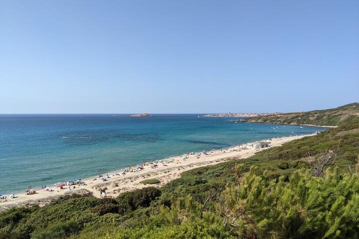 Panorama of Li Feruli and Isola Rossa