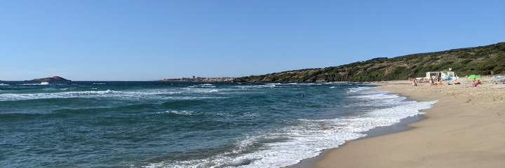 Li Feruli, view of the beach