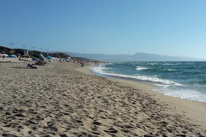 The sea at Badesi Mare