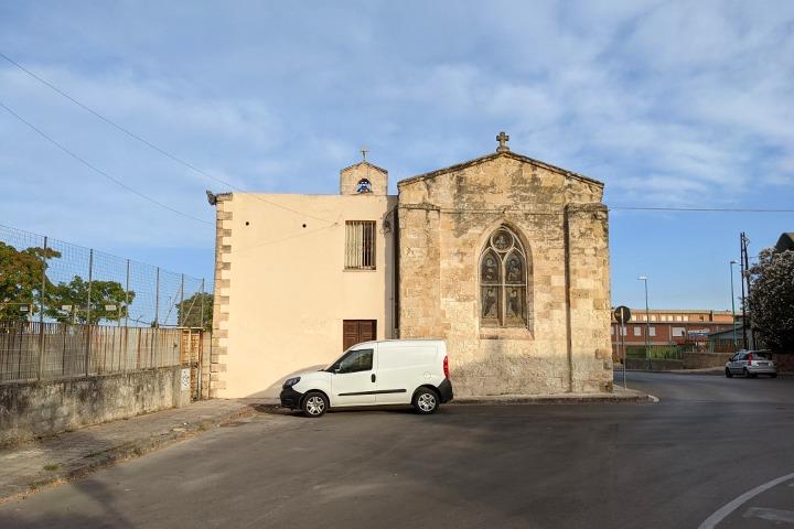 Behind the church of San Leonardo